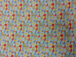 NEW! CLEAR OCEAN - Fabric 100% Cotton - Price Per Metre